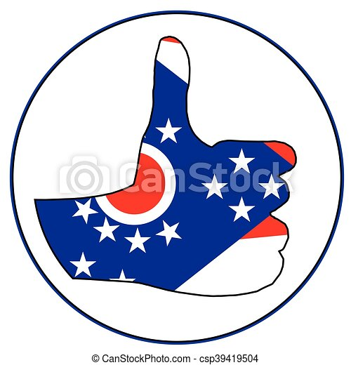 Thumbs Up Ohio - csp39419504