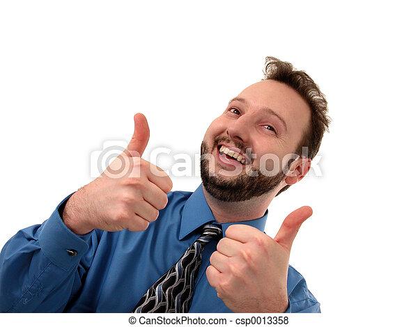 Thumbs Up - csp0013358