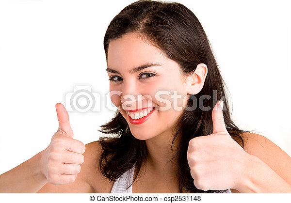 Thumbs Up - csp2531148
