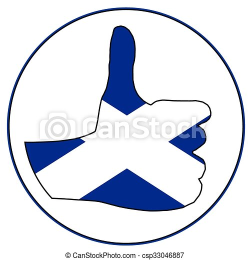 Thumbs Up Scotland - csp33046887
