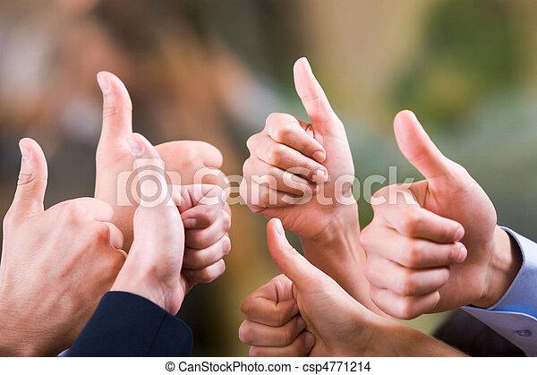 Thumbs up - csp4771214