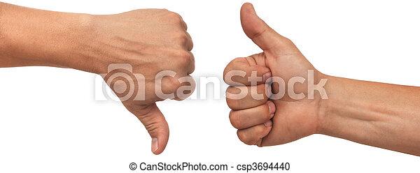 thumbs up - csp3694440