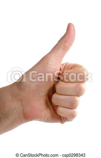 Thumbs Up - csp0298343
