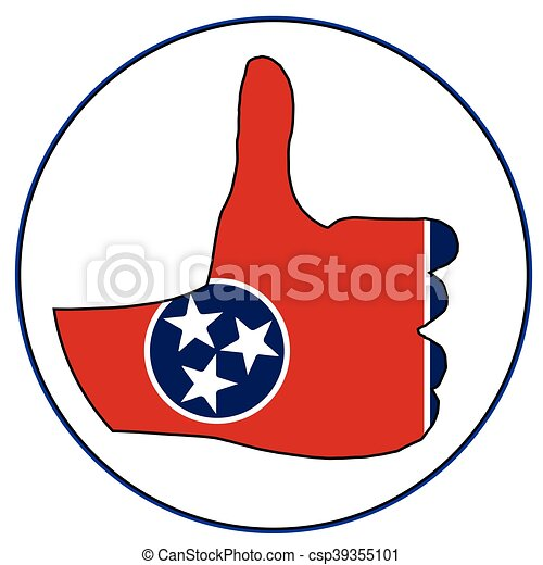 Thumbs Up Tennessee - csp39355101
