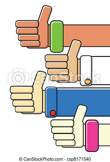 thumbs up - csp8171540