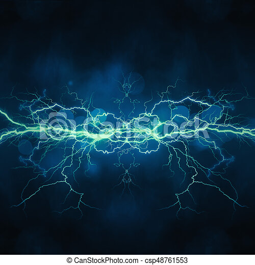 Thunder bolt, industrial and science abstract backgrounds - csp48761553