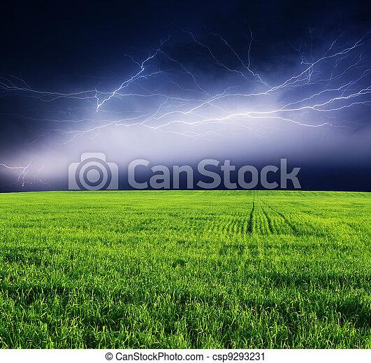 thunderstorm - csp9293231