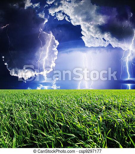 Thunderstorm - csp9297177