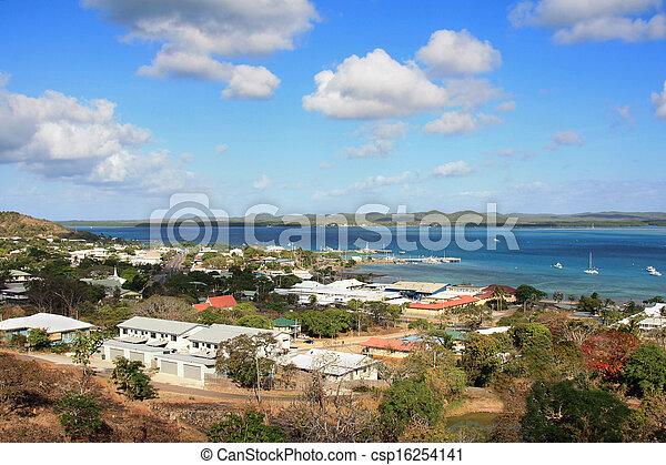 Thursday Island view - csp16254141
