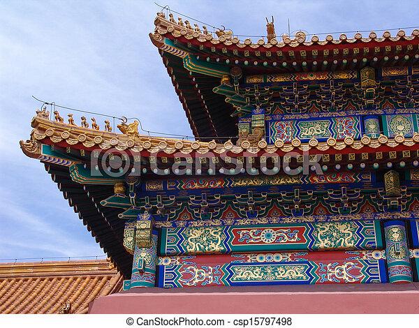 Tiananmen en Pekín - csp15797498
