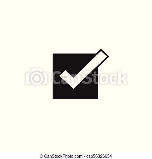 Tick Icon Vector Symbol Checkmark Isolated Checked Icon Or Correct