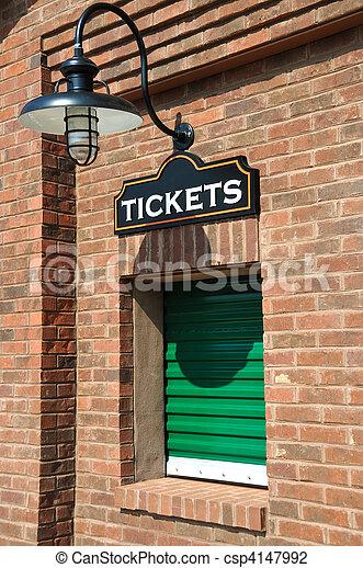 Ticket Office - csp4147992