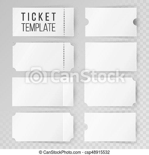 ticket template set vector modern mock up wedding cinema vectors search clip art. Black Bedroom Furniture Sets. Home Design Ideas