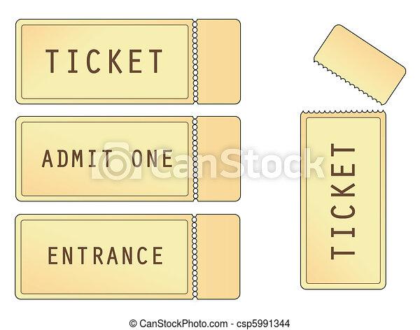 Tickets - csp5991344
