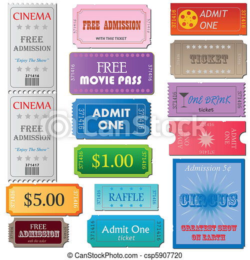 Tickets - csp5907720