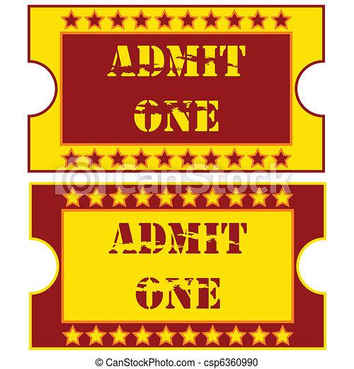 Tickets - csp6360990
