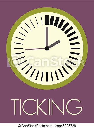 tictac, reloj - csp45298728