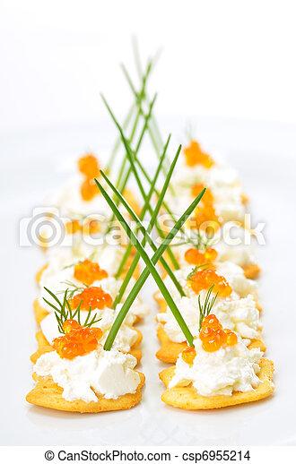 Tidbits with caviar - csp6955214