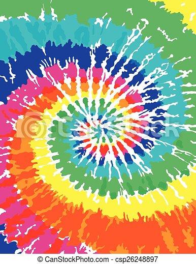Tie Dye Background - csp26248897