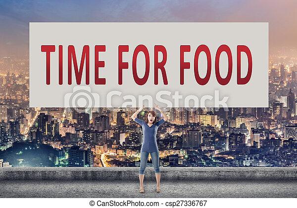 Hora de comer - csp27336767