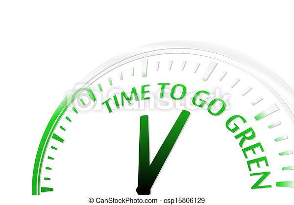 Hora de ponerse verde - csp15806129