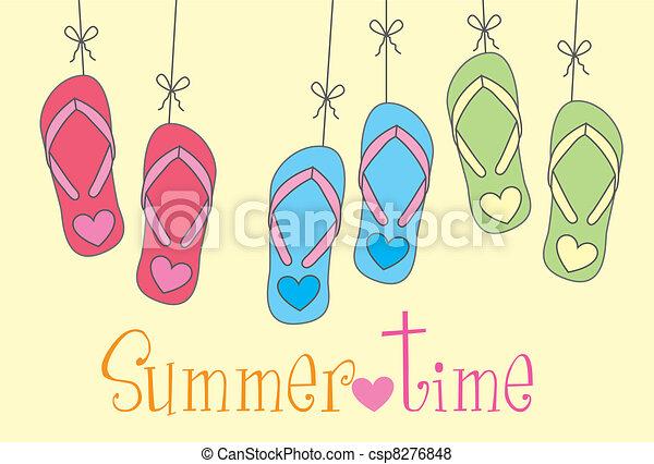 Tiempo de verano - csp8276848