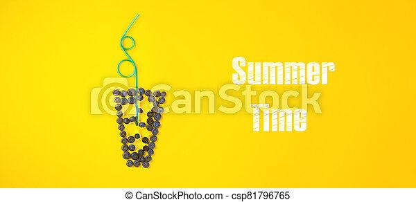 tiempo, verano - csp81796765