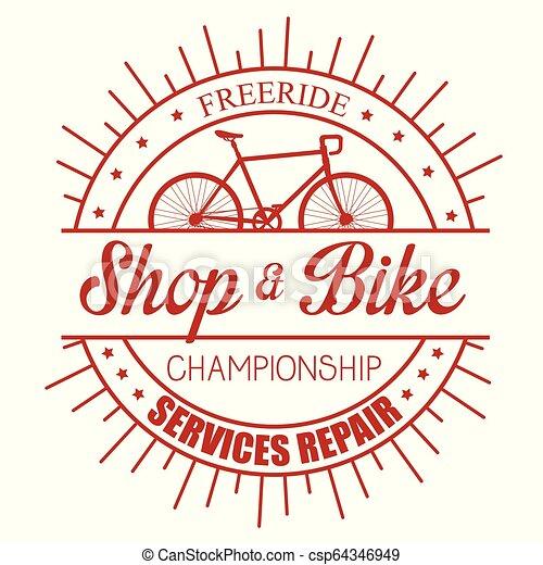 Reparación de servicio de tiendas de bicicletas - csp64346949