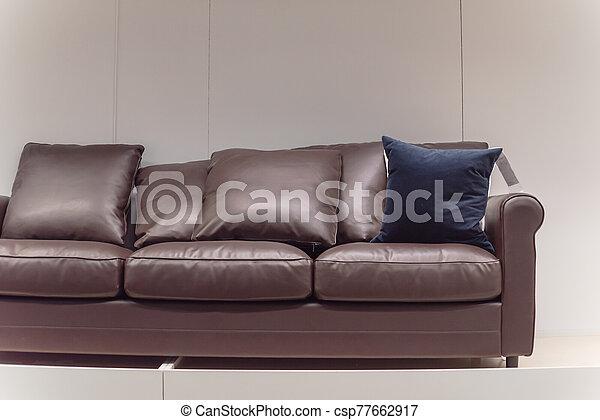 tienda, hogar, muebles, américa, sofás, sofás de cuero, moblaje - csp77662917