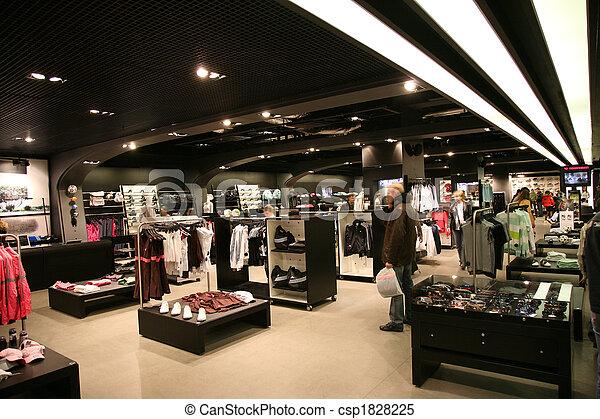 tienda, interior, deporte - csp1828225