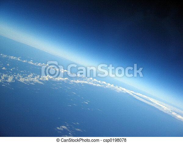 tierra, curvatura - csp0198078