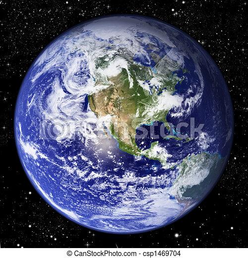 tierra de planeta - csp1469704