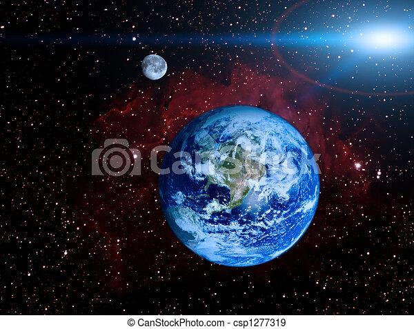 Planeta Tierra - csp1277319