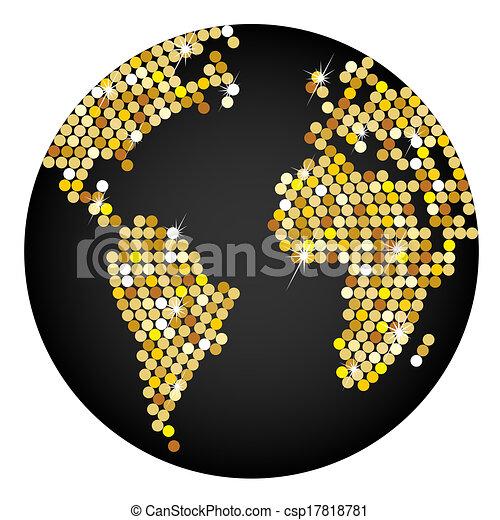 tierra de planeta - csp17818781