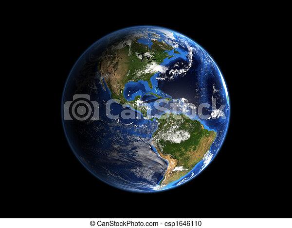 Planeta Tierra Hi-res - csp1646110