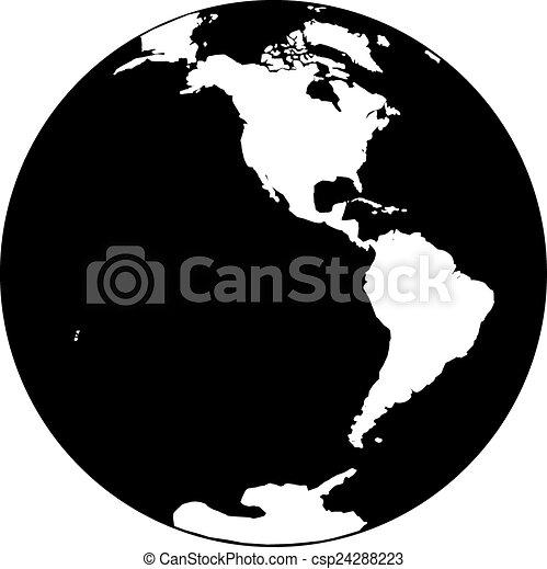 tierra de planeta - csp24288223