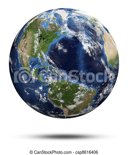 tierra de planeta - csp8616406