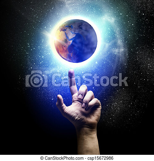 tierra de planeta - csp15672986