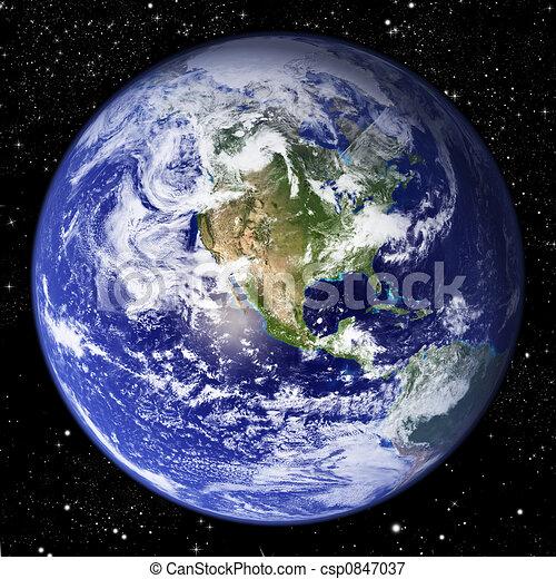Planeta Tierra - csp0847037