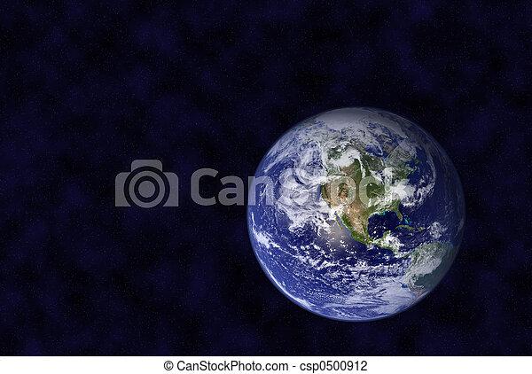 tierra, espacio - csp0500912