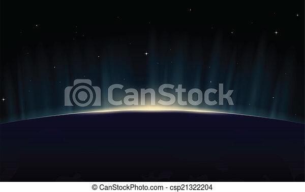 Tierra creciente - csp21322204