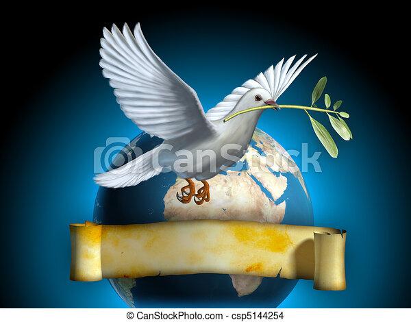 Paz en la tierra - csp5144254
