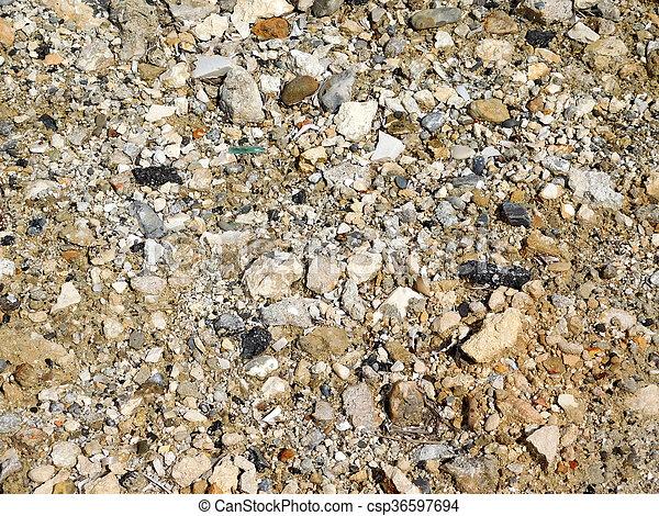 Textura de tierra - csp36597694