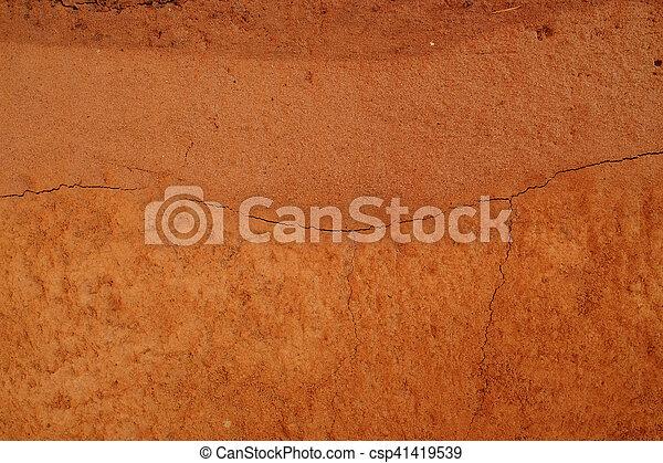 Fondo de textura de suelo de Peat - csp41419539
