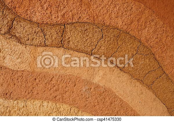 Fondo de textura de suelo de Peat - csp41475330