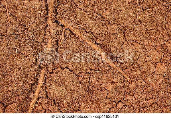 Fondo de textura de suelo de Peat - csp41625131