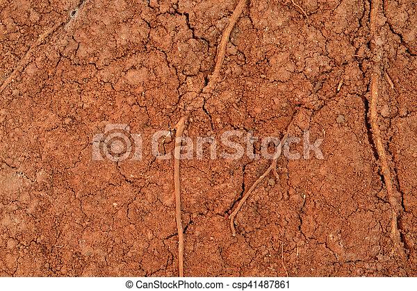 Fondo de textura de suelo de Peat - csp41487861