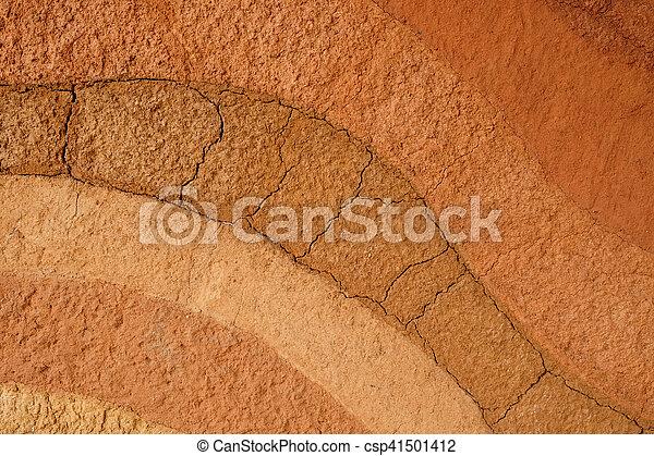 Fondo de textura de suelo de Peat - csp41501412