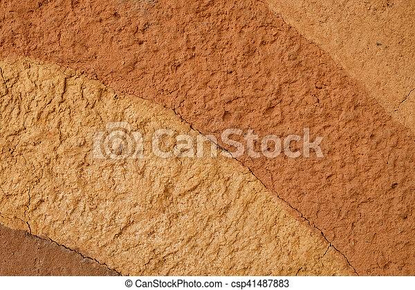 Fondo de textura de suelo de Peat - csp41487883