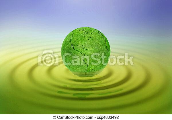 Tierra verde - csp4803492
